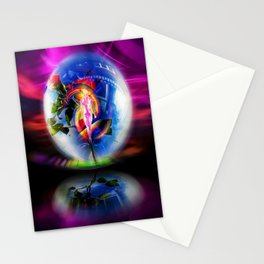 Love greetings by airmail Stationery Cards
