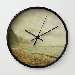 Past Present Future Wall Clock
