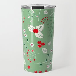 Mistletoe green Travel Mug