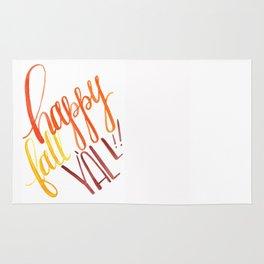Happy Fall Y'all!! Rug