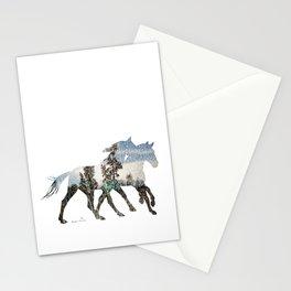 Autumn Horses Stationery Cards