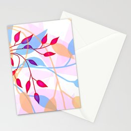 bright Flood of Leafs Stationery Cards