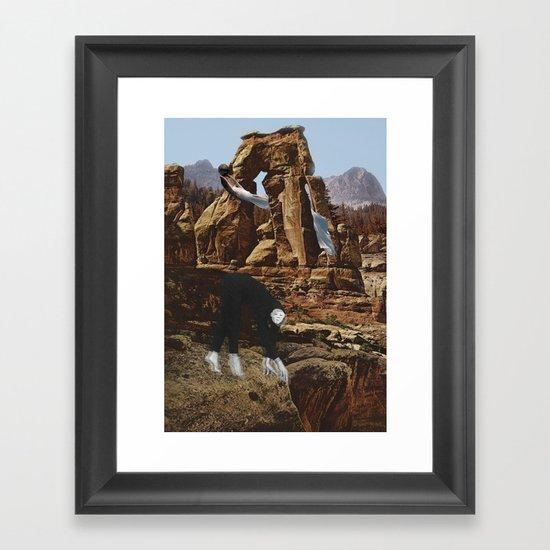 Unholy Land Framed Art Print