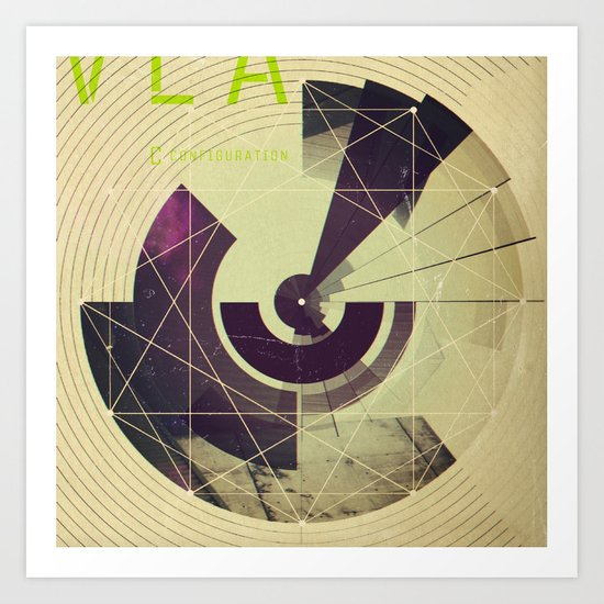VLA / C Configuration Art Print