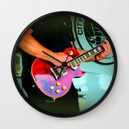 Music Hands Wall Clock