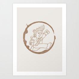 Coffee! Art Print