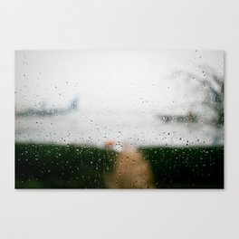 Don't Make Me Leave You Canvas Print