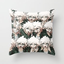 Nagito Komaeda Throw Pillow