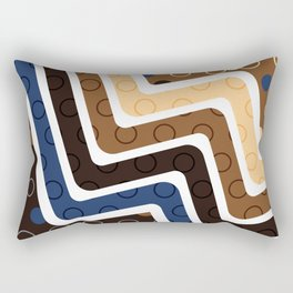 Geometric Figures 2 Rectangular Pillow