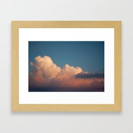 Skies 02 Framed Art Print