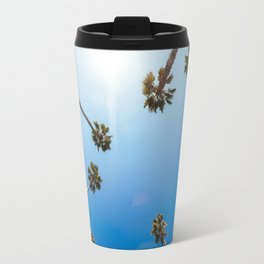 Palm Trees in Los Angeles Travel Mug