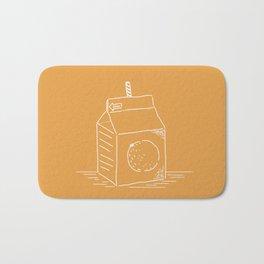Orange Juice (mainichi) Bath Mat