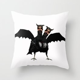 The Vulture Witch Throw Pillow