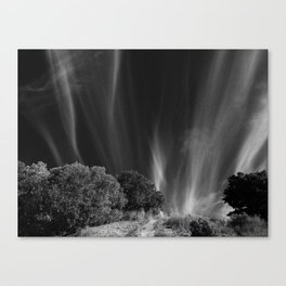 Magic in the Hills Behind My House (Horizontal) Canvas Print