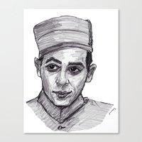pee wee Canvas Prints featuring Pee-Wee Herman by jamestomgray
