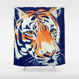 Auburn Tiger Shower Curtain