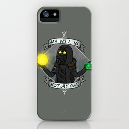 My will is not my own iPhone Case