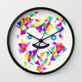 Chromatic character  Wall Clock