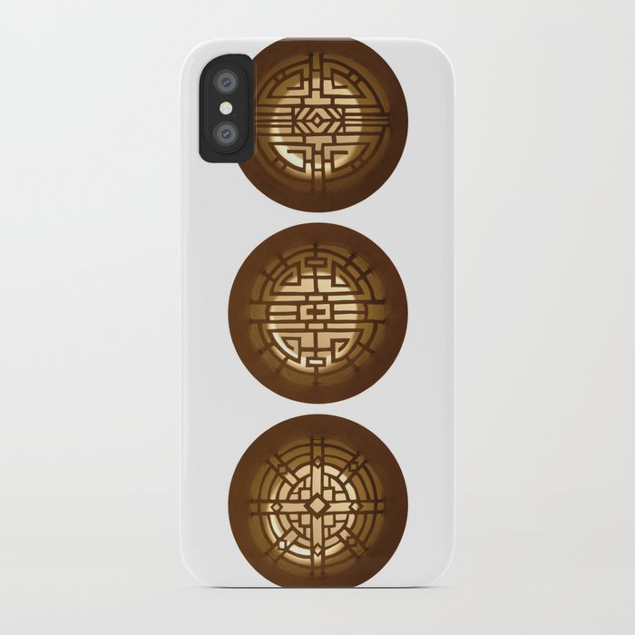 Chinese windows (Fenêtres chinoises) iPhone Case