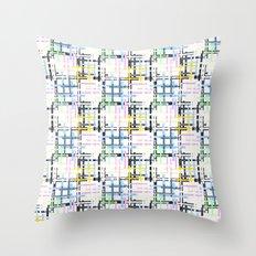 Checkered pattern. Throw Pillow