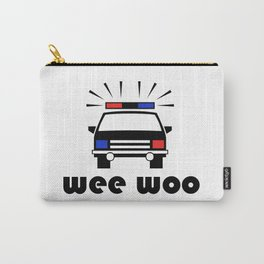 Police Car Wee Woo Carry-All Pouch