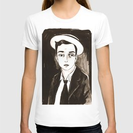 Buster Keaton per un'amica T-shirt