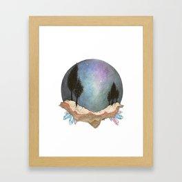 Above From Below Framed Art Print