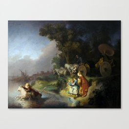 "Rembrandt Harmenszoon van Rijn, ""The Abduction of Europa"", 1632 Canvas Print"