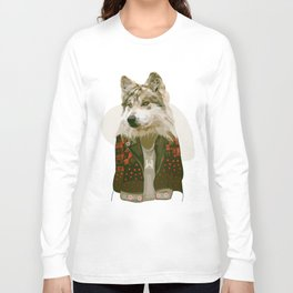wolf jacket Long Sleeve T-shirt