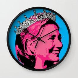 Queen Hillary Wall Clock