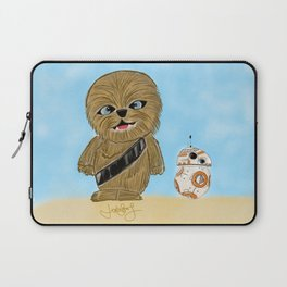 Baby Chewy And BB-8 Laptop Sleeve