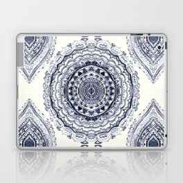 Supernova-In Navy, Dark Blue, & Grey Laptop & iPad Skin