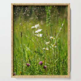 Grassland Meadow Serving Tray
