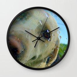 After a swim Wall Clock