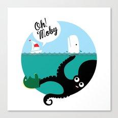 Kraken!!! Canvas Print