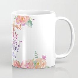 Too Fond of Books Coffee Mug
