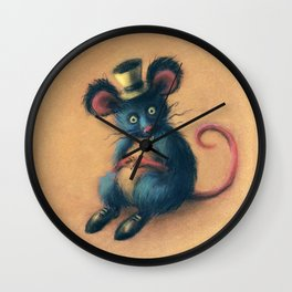 Mr Mad Mouse Wall Clock