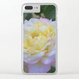 Rose 386 Clear iPhone Case