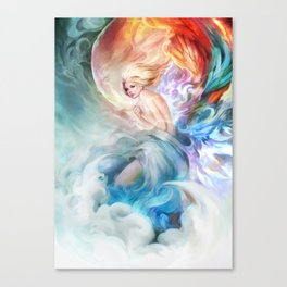 ONE SMOKING HOT FAIRY TAIL Art Canvas Print