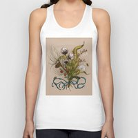 north carolina Tank Tops featuring North Carolina Memories by Jessica Roux
