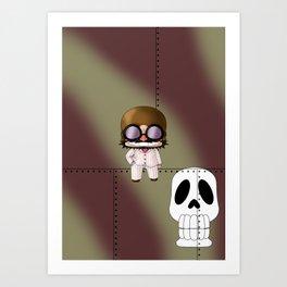 Chibi Mamma Aiuto Art Print