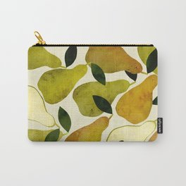 mediterranean pears watercolor Carry-All Pouch