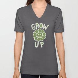 GROW THE F UP Unisex V-Neck
