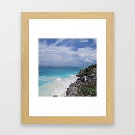 Cancun Framed Art Print