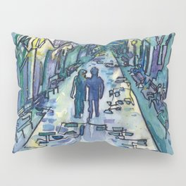 Lovers in the Park Pillow Sham