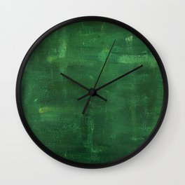 Lean Mean Green Machine Wall Clock