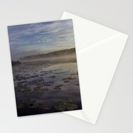 lilly pad dawn Stationery Cards