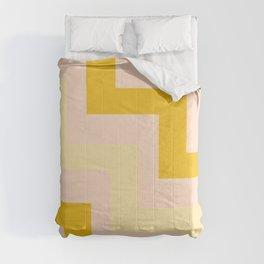 Chevron diagonal 90s Comforters