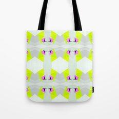 Polygon Neon Tote Bag