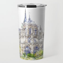 Notre-Dame de Paris Travel Mug